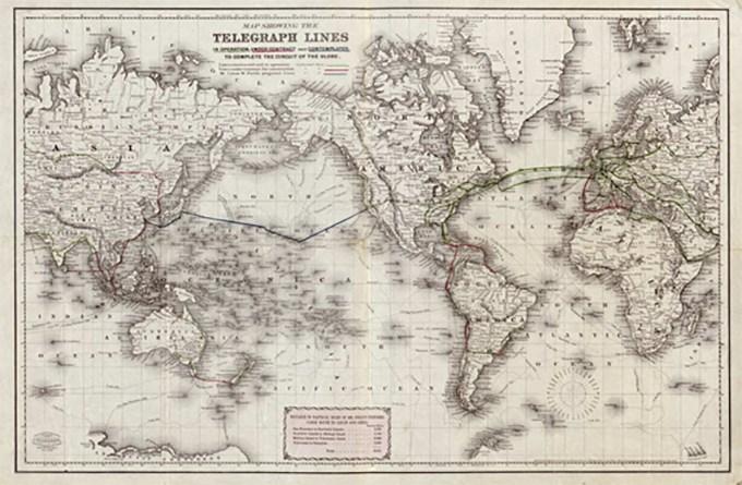 rutas de cables submarinos
