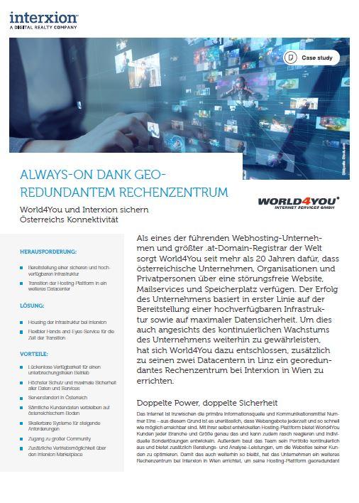World4You Referenzstory herunterladen