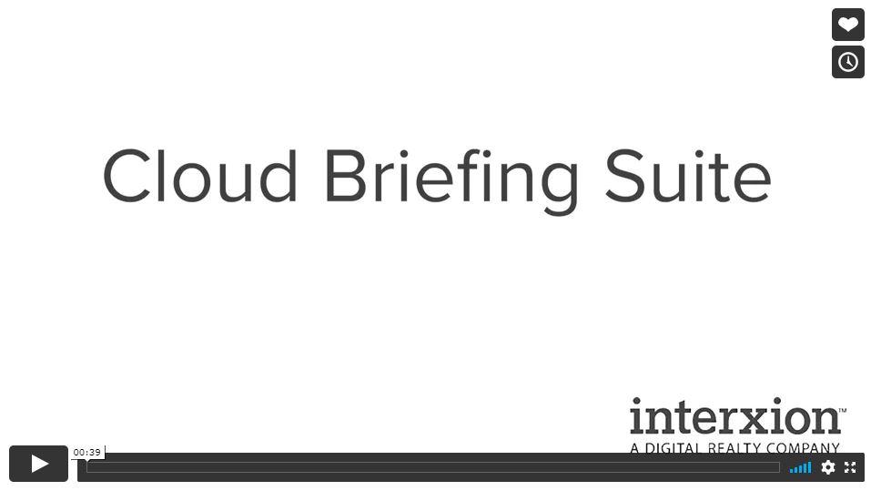 cloud briefing