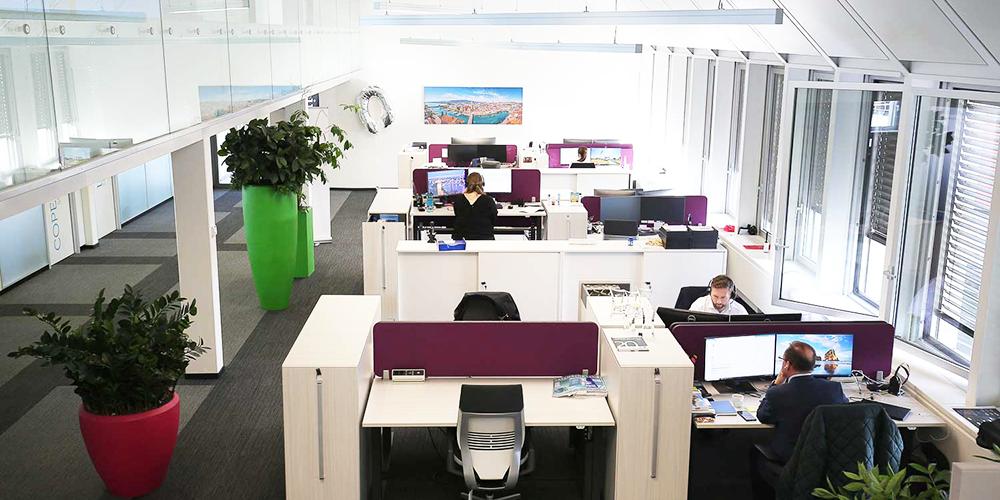 Open Space Office Interxion Zurich