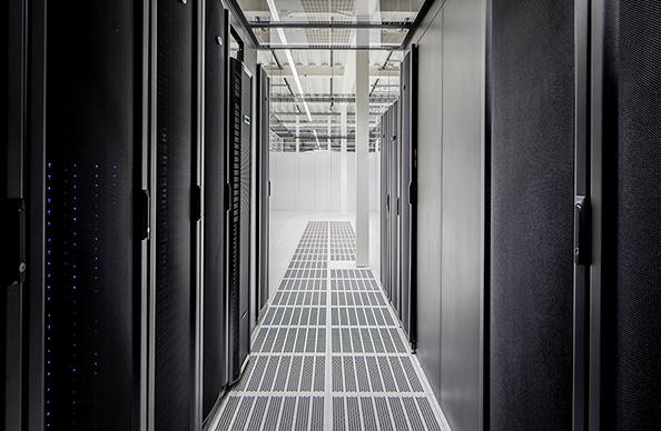 Data centre aisle blog