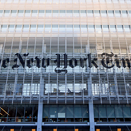 New York Times nube pública