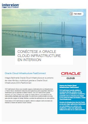 OCI Interxion factsheet