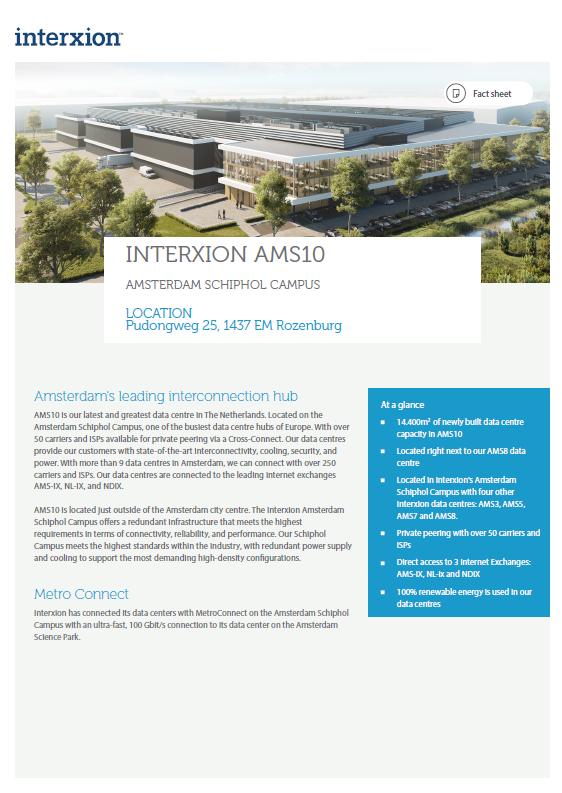 AMS 10 factsheet