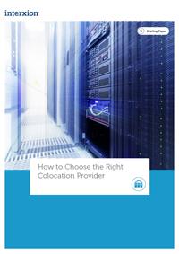 choosing a colocation provider