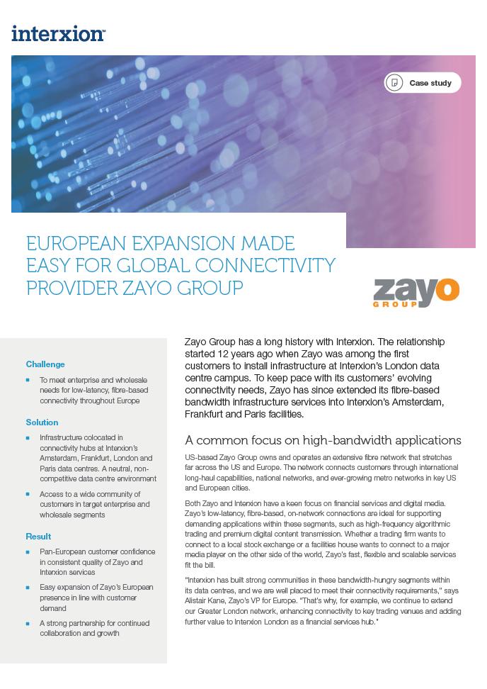 zayo case study
