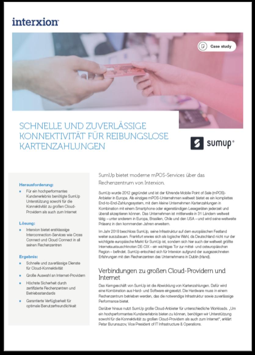 Referenz SumUp Fintech