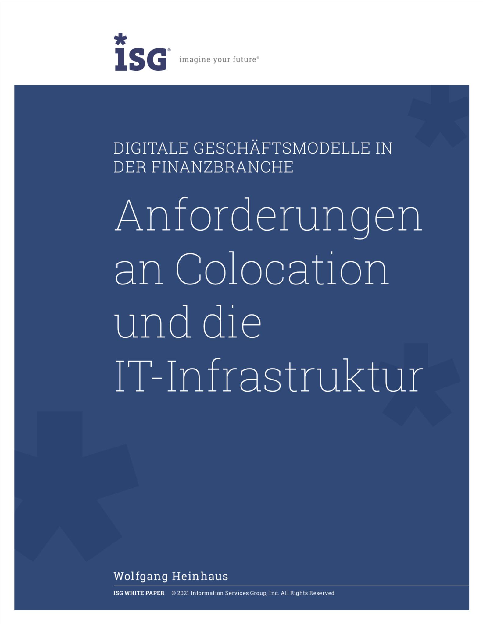 Anforderungen an Colocation und die IT-Infrastruktur
