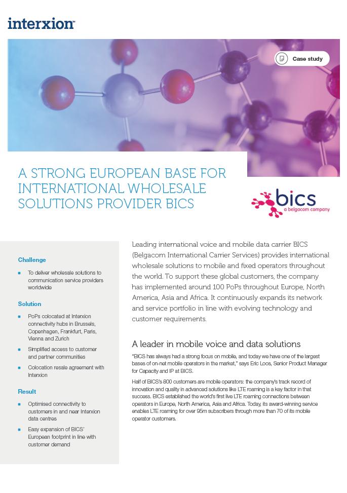 BICS case study