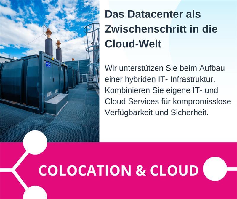 Unser Datacenter bringt Sie in die Cloud!
