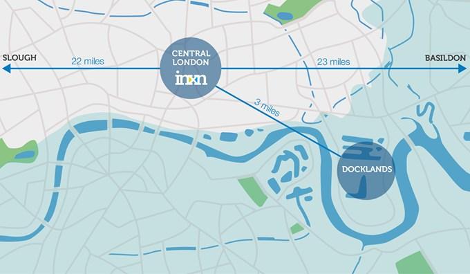 London data centre locations