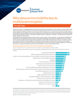 451 Research Report: Why Data Centres Hold the Key to Multicloud Encryption - Download
