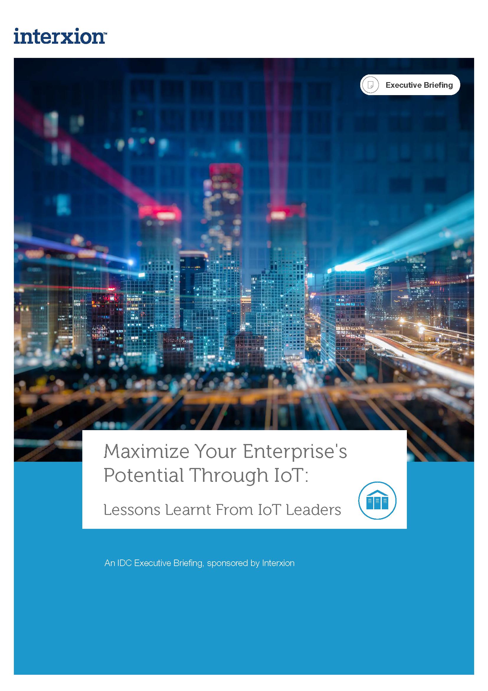 Maximieren Sie Das Potential Ihres Unternehmens Durch IOT - Download