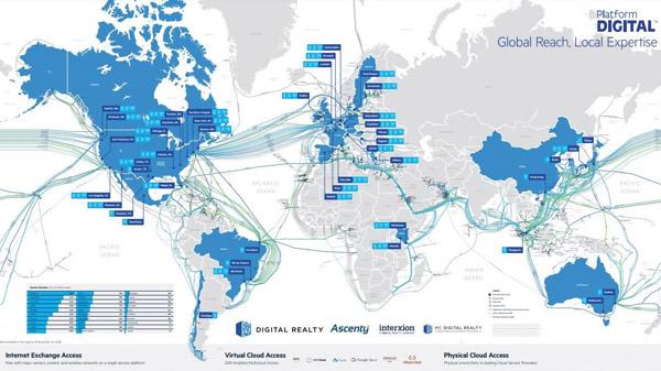 platformdigital map