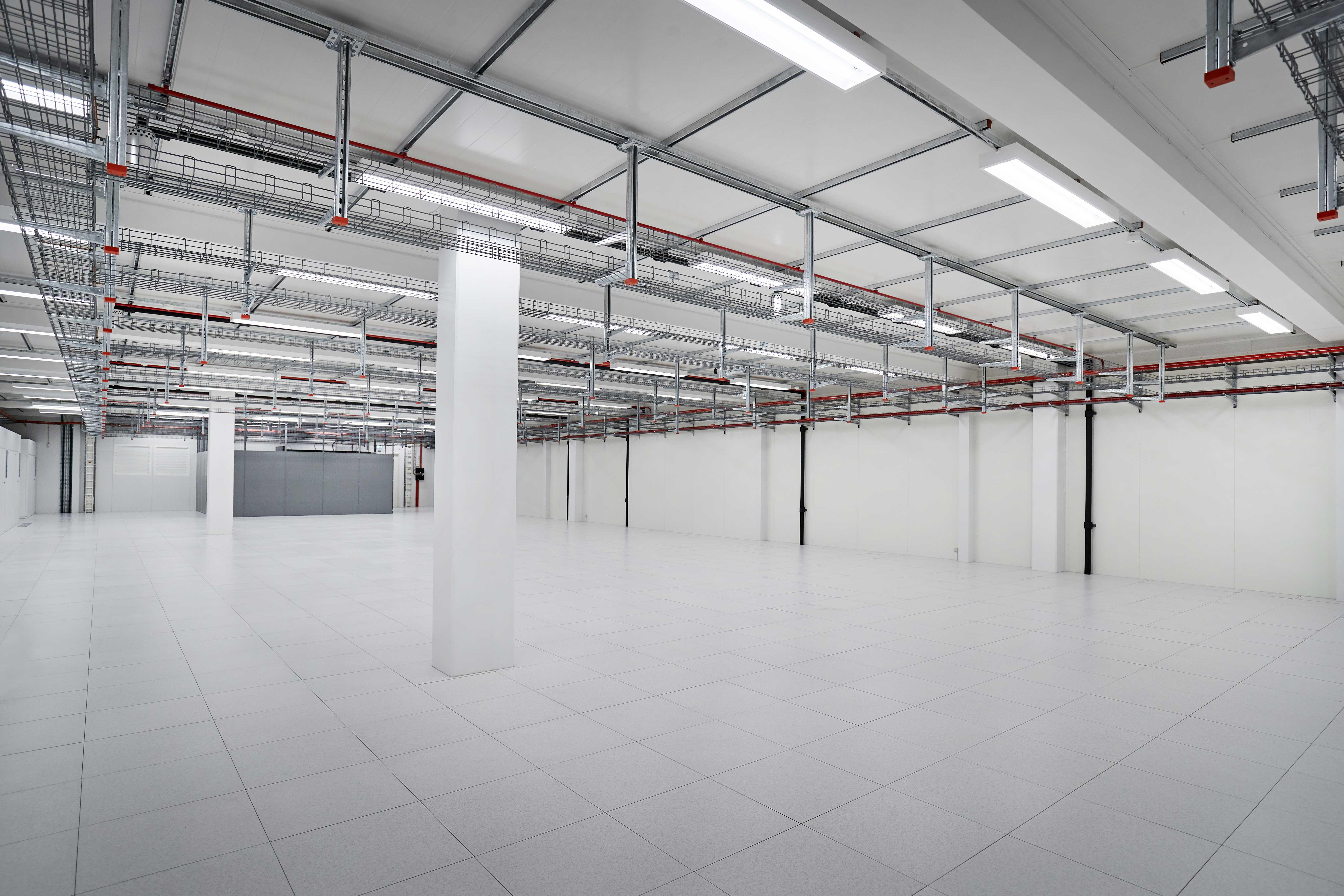 Privata datahallsrum colocation