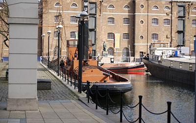 Photo of London's Docklands
