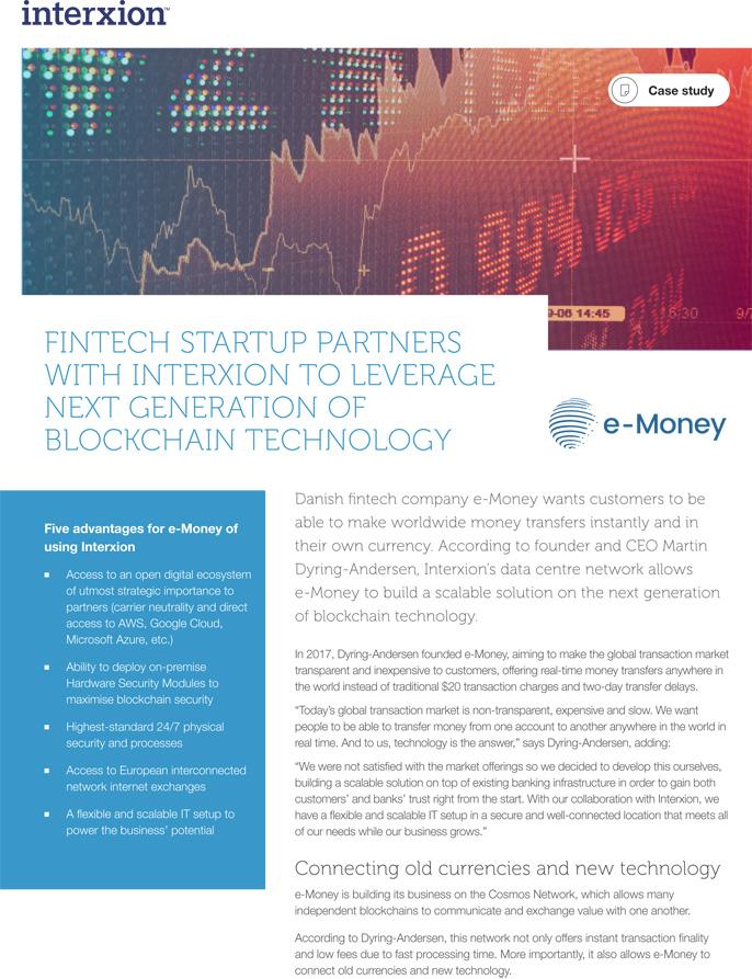 e-Money Case Study