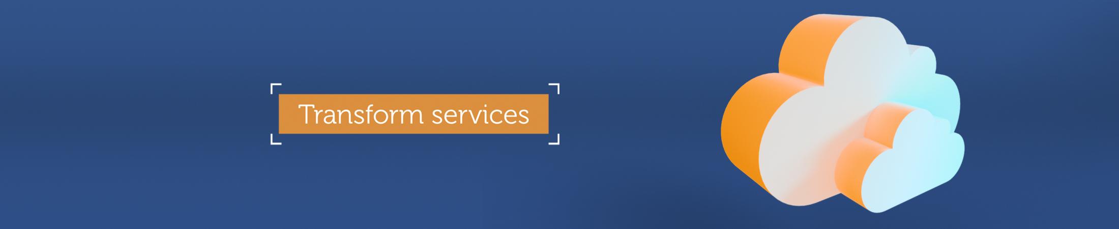 Transform digital services mobilebanner