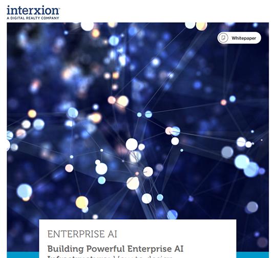 Welche Infrastruktur ist erforderlich, um Enterprise AI zu ermöglichen?